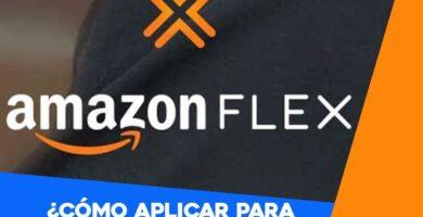 Cómo aplicar para trabajar en Amazon Flex como delivery