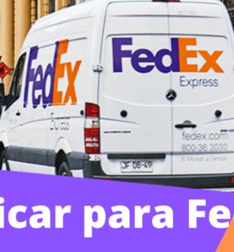 Cómo aplicar para trabajar para FedEx
